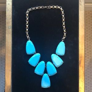 Kendra Scott Blue Turquoise Necklace